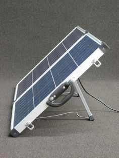 http://netzeroguide.com/portable-solar-panels.html Portable solar panels are becoming more popular because they are getting cheaper and people like to keep their devices charged even when they go off the grid.