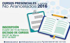 #Cursos Presenciales Gratuitos de Negocios - Marzo 2016  #emprendedores Plastic Cutting Board, Learning, March, Studying, Teaching
