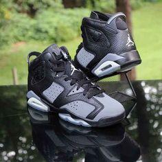 Junior Nike Air Jordan 6 Retro BG Basketball Trainers 384665-010 UK sz/'s 5.5 /& 6