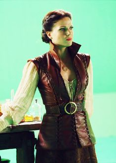 Once Upon a Time - Regina - I love the steampunk style vest!
