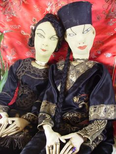 Chinese Boudoir Dolls
