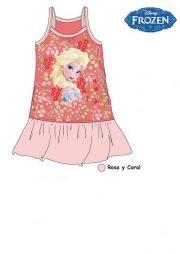 Vestido de tirantes de Frozen Disney...: http://www.pequenosgigantes.es/pequenosgigantes/4575095/vestido-de-tirantes-coral-de-frozen.html
