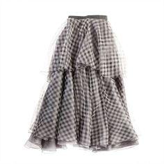 Rebecca Viole Skirt (27.545 RUB) found on Polyvore