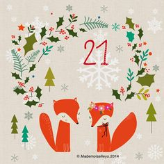 Mademoiselleyo: Advent calendar 20, 21, 22