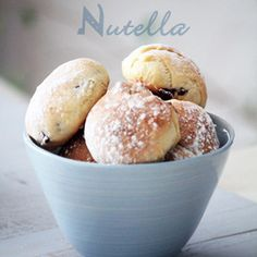 Bollitos rellenos de nutella - Cocinar con niños - Recetas - Charhadas.com