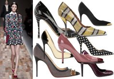 Tendenza scarpe autunno inverno 2013-14: torna in grande stile il décolleté