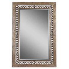 Uttermost Garrick Beveled Wall Mirror Mirror Iron Wall