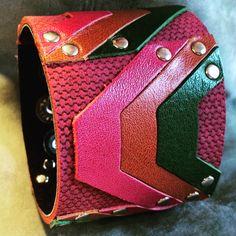 Joxasa leather cuff.