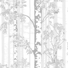 <p>Luontopolku-tapetissa ihastuttaa Riina Kuikan suunnittelema kuulas koivumetsä. Lähempää ja kauempaa kuvatut koivun rungot muodostavat kuosiin syvyyttä kantaen syvyysvaikutelman mukanaan tilaankin. Raikas ja rauhallinen Luontopo
