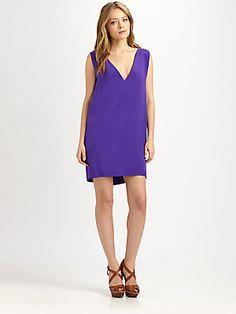 Ralph Lauren Blue Label Shellie Silk Dress