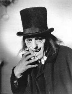"""""""London After Midnight"""" Lon Chaney 1927 Classic Monster Movies, Classic Horror Movies, Classic Monsters, Silent Horror, Silent Film, London After Midnight, The Frankenstein, Lon Chaney, Horror Monsters"""