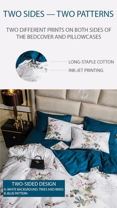 Dreaming Creek Bedding Set – fourlinedesign Cotton Bedding, Linen Bedding, 1 Year Anniversary Gifts, Queen Size Bedding, King Beds, Bed Sheets, Duvet Covers, Pillow Cases, Comfy