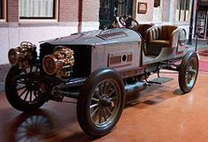 Spyker 60 HP 1903  Worlds first 6 cilinder car and worlds first four wheel driven car.