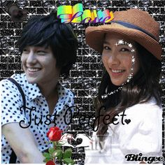 Kim So Eun as Chu Ga Eul ♥ Kim Bum as So Yi Jung