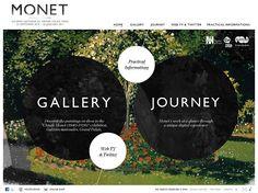 Monet 2010, Web Exhibit