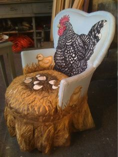 Chicken Nest Chair
