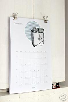 Oravanpesä | Kalenteri design Johanna Ilander
