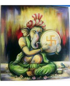 Image may contain: 1 person Ganesha Drawing, Lord Ganesha Paintings, Ganesha Art, Krishna Art, Jai Ganesh, Ganesha Sketch, Ganesh Tattoo, Ganesh Lord, Pichwai Paintings