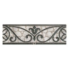 Daltile Fashion Accents Wrought Grey 3 In X 8 Ceramic Listello Wall Tile