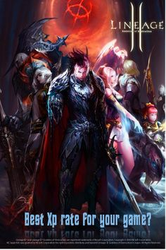 Lineage II Best Xp Rate for you -