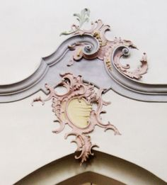 "Rocaille Ornament c. 1730The word Rococo comes from the French word rocaille, meaning ""rock-work."" It refers to the rockeries in contemporary gardens which inspired these decorations"