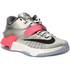 premium selection 4c624 84bae Nike KD Pure Platinum Multicolor Black 7 ASG Basketball Shoe