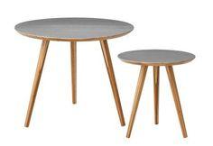 Bloomingville - Sofaborde i grå fra HjemmeLiv.dk Bordene er perfekte som sideborde til sofaen eller som en del af en hyggekrog.