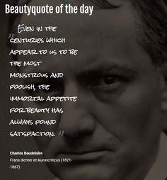 Beautyquote van Charles Baudelaire op www.makeupmymind.nl