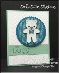 Cookie Cutter Christmas baby card