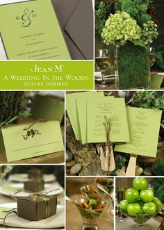 Woodsy Inspiration - Tips for a nature-themed or rustic #wedding
