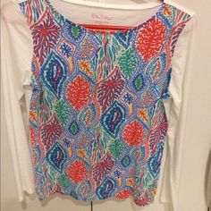 Lilly Pulitzer Top Size small Lilly Pulitzer Tops Tees - Long Sleeve