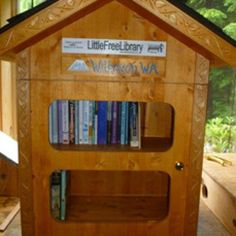 Little Free Library in Wilkeson, WA