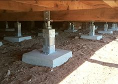 garden patio design and how to design a patio Foundation Repair, House Foundation, Patio Design, House Design, Stairs Stringer, Casas Containers, Diy Home Repair, A Frame House, Tiny House Cabin