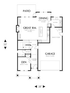 1000 images about home plans on pinterest house plans for 2 and a half car garage dimensions