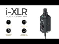 Rode iXLR: Kleines iOS Audio Interface für Reportermikrofone - http://www.delamar.de/musik-equipment/rode-ixlr-30418/?utm_source=Pinterest&utm_medium=post-id%2B30418&utm_campaign=autopost