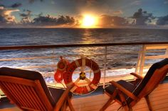 Nothing but sun and sea, what a view! Photo taken aboard the Emerald Princess in the #Caribbean