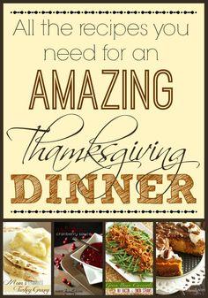 Thanksgiving Recipes from favfamilyrecipes.com