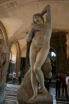 『ルーヴル美術館 瀕死の奴隷』
