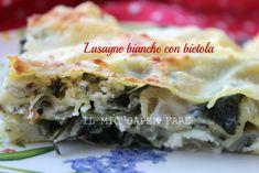 Lasagne bianche con bietola scamorza e ricotta:il cremoso ripieno esalta il sapore delle bietole e le fa apprezzare anche a chi non le ama Ricetta vincente!