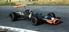 I would love to hear a detailed explanation of the front and rear wing designs from the BRM aerodynamicist. I kinda get the rear even though Spain the following year would embarrass a lot of F-1 structural engineers. Upfront, if three inches plants the front a bit better why not an adjustable 10 or 12 inches? Have we ever seen shorter front wings on an F-1 car?