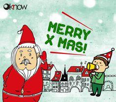 Oknow祝福大家聖誕快樂噢