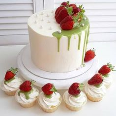 2,430 отметок «Нравится», 16 комментариев — Cakeideasfoto (@cakeideasfoto) в Instagram: «Repost @es.cake #cake #cakes #cupcake #cupcakes #cakeart #cakeporn #cakelover #cakedesign…»