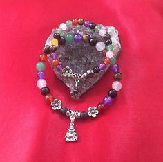 Chakra bracelets my first chakra bracelet by TriquetraBoutique