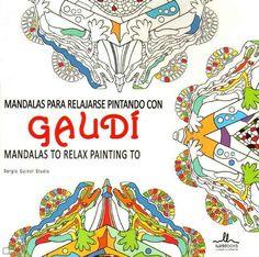 """""""Mandalas para Relajarse Pintando con Gaudí"""" cria composições a partir da obra do artista."""