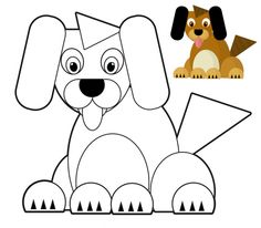 Preschool Color Match – Dog  #concentration #builder #art #therapy #focus #for #life