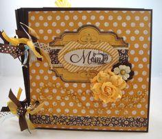 Scrapbook Mini Album Mother's Day by ArtsyAlbums on Etsy, $43.00