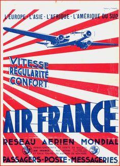 Anciennes affiches dAir France ancienne affiche air france 53 479x660