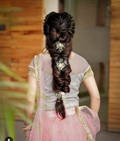 Quiz: How Much Do You Know About Wedding Traditional Hairstyle? - Wedding Traditional Hairstyle LaLa Kent, aloof debuted a cast new beard do! Bridal Hairstyle Indian Wedding, Bridal Hair Buns, Bridal Hairdo, Hairdo Wedding, Indian Wedding Hairstyles, Wedding Hairstyles For Long Hair, Bride Hairstyles, Cool Hairstyles, Elegant Hairstyles