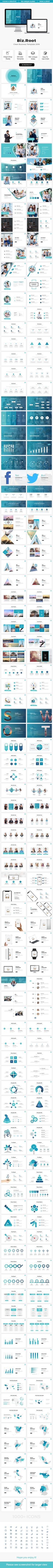 Biz.Root Powerpoint Template