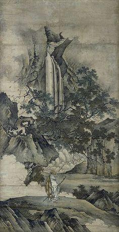 狩野元信/禅宗祖師図